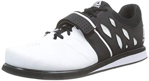 Reebok Lifter Pr, Zapatillas de Deporte para Hombre, Blanco (White/Black 000), 45 EU