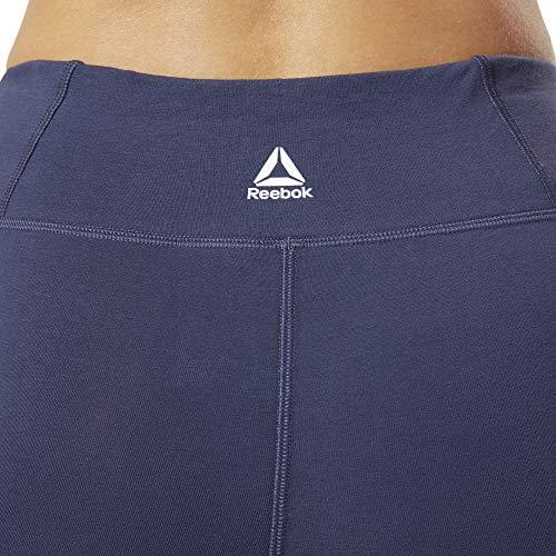 Reebok Linear Logo Tight CTN Mallas, Mujer, hernvy, L