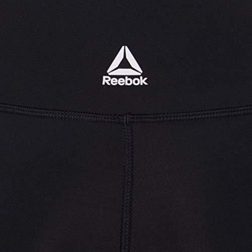 Reebok Linear Logo Tight Mallas, Mujer, Negro, M