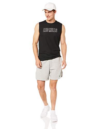 Reebok LM Sleeveless tee Camiseta, Hombre, Negro, S