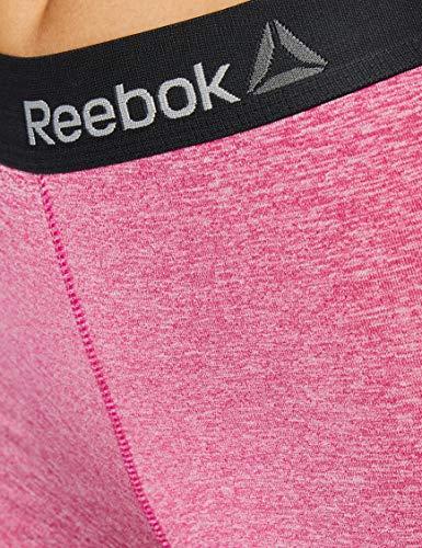 Reebok Missy Short Deportivo para Mujer Color Morado, Unitario T358-1, S
