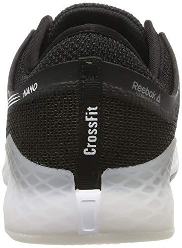 Reebok Nano 9, Zapatillas de Gimnasia para Hombre, Negro Black White 0, 39 EU
