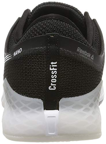 Reebok Nano 9, Zapatillas de Gimnasia para Hombre, Negro (Black/White/None Black/White/None), 40.5 EU