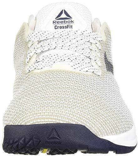 Reebok - Nano 9 - Zapatillas deportivas de entrenamiento cruzado para hombre, Blanco (Blanco/ rojo/ azul marino), 43.5 EU