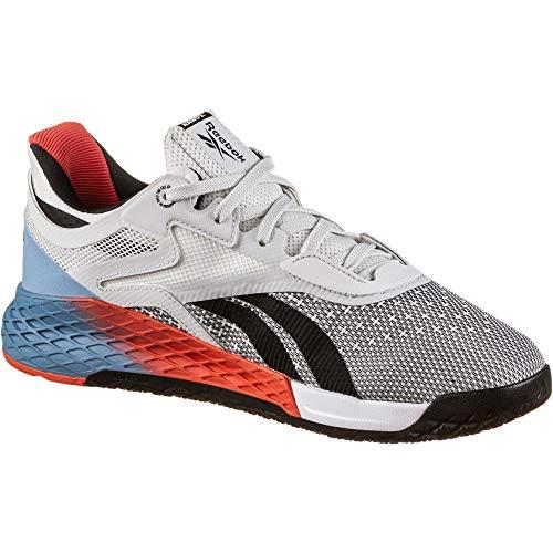 Reebok Nano X, Zapatillas de Deporte para Mujer, Blanco/FLUBLU/VIVDOR, 40.5 EU