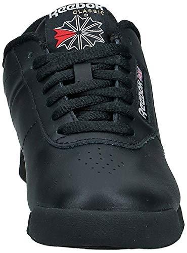 Reebok Princess, Zapatillas para Mujer, Negro (Black 001), 39 EU