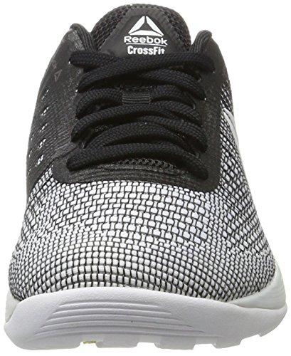 Reebok R Crossfit Nano 7.0, Zapatillas de Running Unisex, Blanco (Cfg-White/Electric Flash/Black), 37 EU W