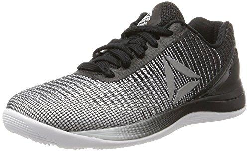 Reebok R Crossfit Nano 7.0, Zapatillas de Running Unisex, Blanco (White/Black/Silver Met), 36 EU W