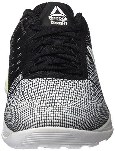 Reebok R Crossfit Nano 7.0, Zapatillas de Running Unisex, Blanco (White/Electric Flash/Black), 43 EU M
