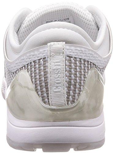 Reebok R Crossfit Nano 8.0, Zapatillas de Deporte para Mujer, Blanco (White/Skull Grey/Pure Silver White/Skull Grey/Pure Silver), 37.5 EU