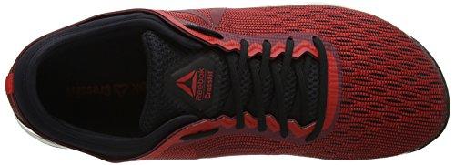 Reebok R Crossfit Nano 8.0, Zapatillas para Hombre, Multicolor (Primal Red/Urban Maroon/Chalk/Black Cm9169), 45.5 EU