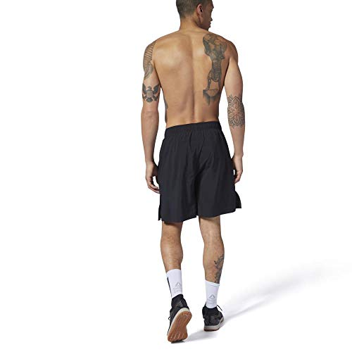 Reebok RC Austin II Pantalón Corto, Hombre, Black, XL