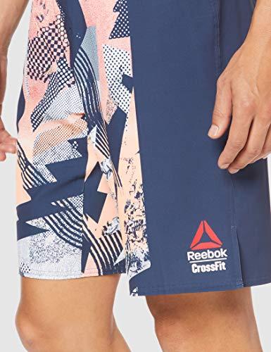 "Reebok RC Epic Cordlock- Print Pantalón Corto, Hombre, Sunglow, 37"""