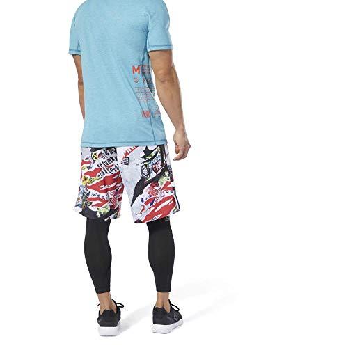 Reebok RC Epic Cordlock Short Pantalón Corto, Hombre, trugr1, 37