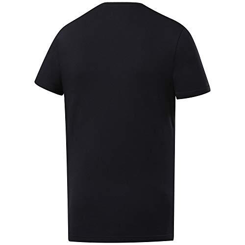 Reebok RC Excellence Is Obvious Graphic tee Camiseta de Manga Corta, Hombre, Negro (Black), M