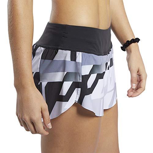 Reebok RC Knw AMRAP Pantalónes Cortos, Mujer, Gris (Sterling Grey), L