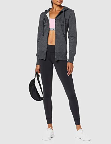 Reebok RCF Full Zip Hoody Chaqueta, Mujer, Multicolor (brgros/Negro), S