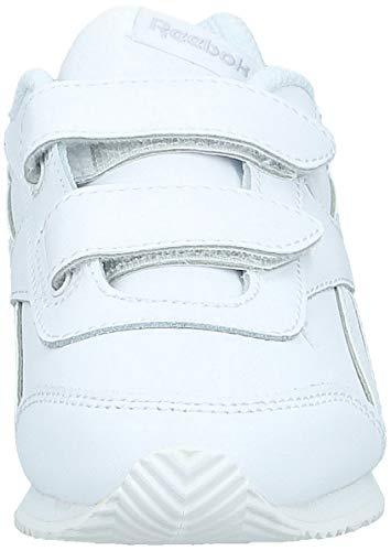 Reebok Royal Cljog 2 2V, Zapatillas de Trail Running Unisex niños, Blanco (White White), 28 EU