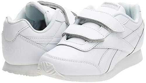 Reebok Royal Cljog 2 2v, Zapatillas de Trail Running Unisex niños, Blanco (White White), 34 EU