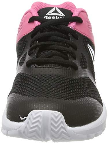 Reebok Rush Runner, Zapatillas de Entrenamiento para Mujer, Negro (Black/Pink 0), 36.5 EU