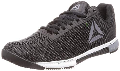 Reebok Speed TR Flexweave, Zapatillas de Deporte Interior para Mujer, Multicolor (Black/Cold Grey/White 000), 40 1/3 EU