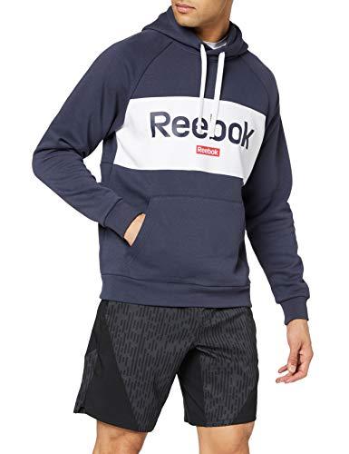 Reebok Te Big Logo Oth Hoodie Sudadera, Hombre, hernvy, XS