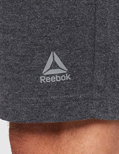 Reebok Te Jersey Short Pantalón Corto, Hombre, brgros, L