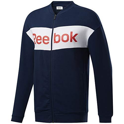Reebok Te Linear Logo Ft TS Conjunto Deportivo, Hombre, Maruni, 2XL