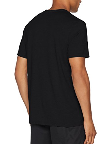 Reebok Te SL Classic tee Camiseta, Hombre, Negro (Negro), L
