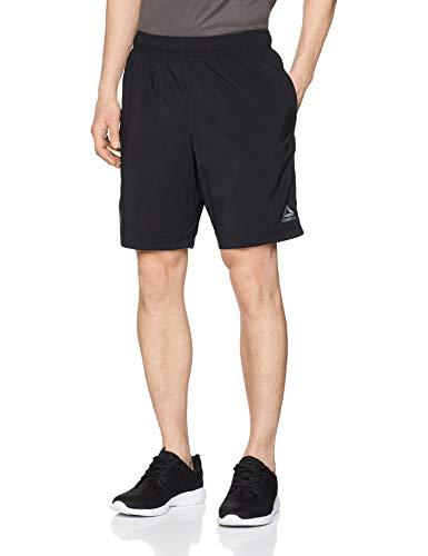 Reebok Te Woven Pantalón Corto, Hombre, Negro, XL