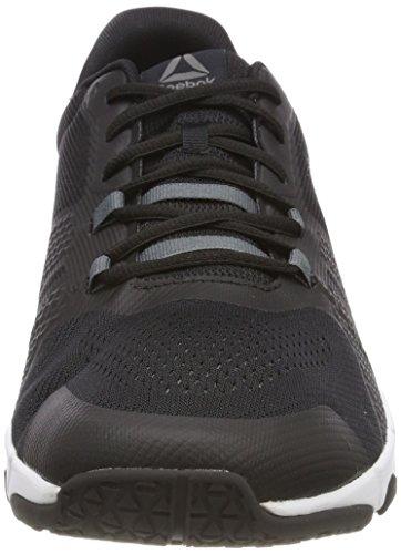 Reebok Trainflex 2.0, Zapatillas de Deporte para Hombre, Negro (Black/Alloy/Wht 000), 44 EU
