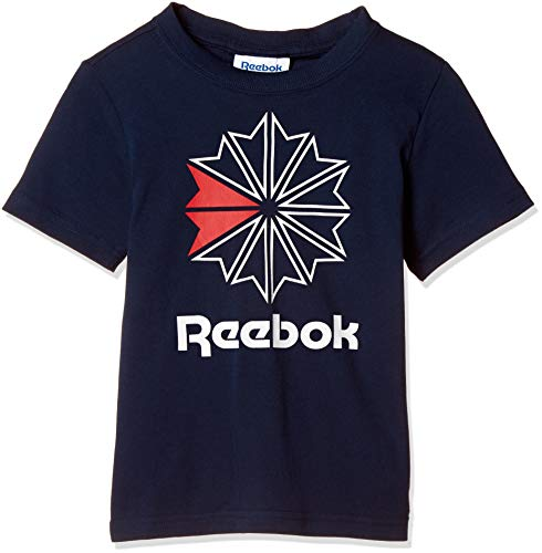 Reebok U Classics Starcrest tee Camiseta, Unisex Adulto, Maruni, L