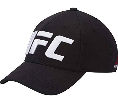 Reebok UFC Baseball Cap (Logo) Gorra, Hombre, Negro, Talla Única