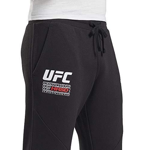 Reebok UFC FG Fight Week Jogger Pantalón, Hombre, nghblk, 2XL