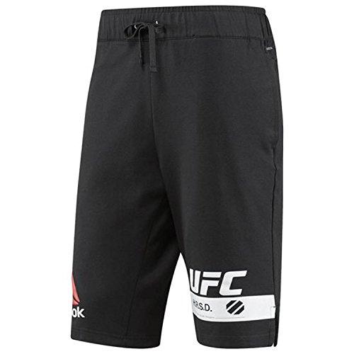 Reebok UFC Fg - Pantalones cortos para hombre - S98489, XS, Negro
