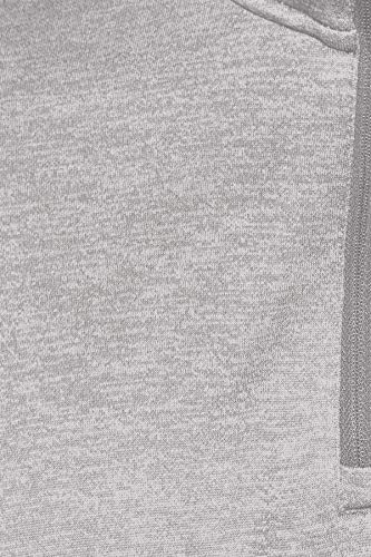 Reebok Us Double Knit 1/4 Zip Chaqueta, Hombre, Gris (brgrin), L