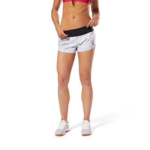 Reebok Women's Crossfit Pantalones Cortos Stone - AW18 - XS