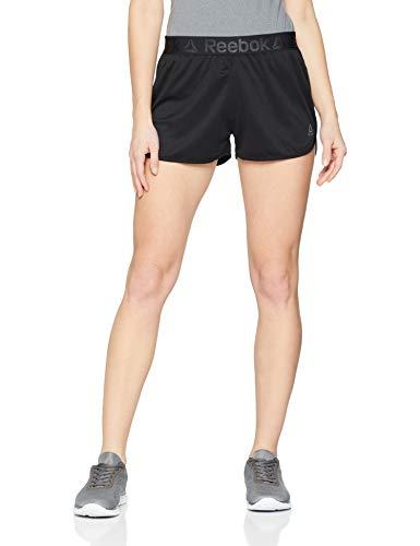 Reebok Wor Easy Short Pantalón Corto, Mujer, Negro, 2XS