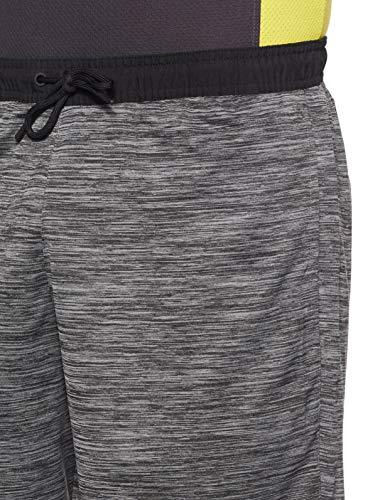 Reebok Workout Ready Knitted Pantalón Corto, Hombre, Gris (Dark Grey Heather), L