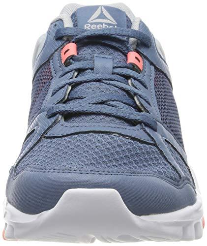 Reebok Yourflex Trainette 10 MT, Zapatillas de Deporte para Mujer, Multicolor (Blue Slate/Cloud Grey/Digital Pink/White 000), 36 EU