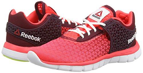 Reebok Z Dual Rush 2.0 - Zapatillas de Running de Material sintético Mujer, Color Rosa, Talla 38