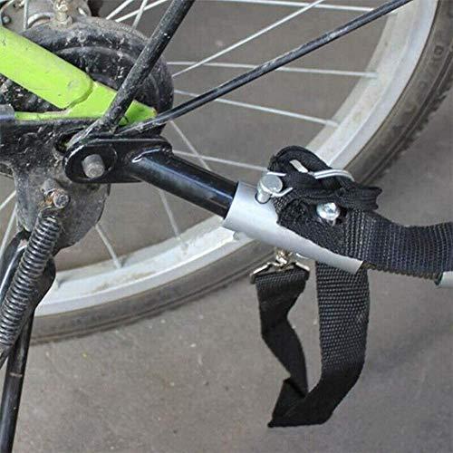 Remolque Acoplador Accesorio Bicicleta Embrague Montaje Adaptador Bicicleta Accesorios para Qr Ejes Sy Uso Universal Modelo Acero Tch Racks Recambio Duradero Conector Práctico