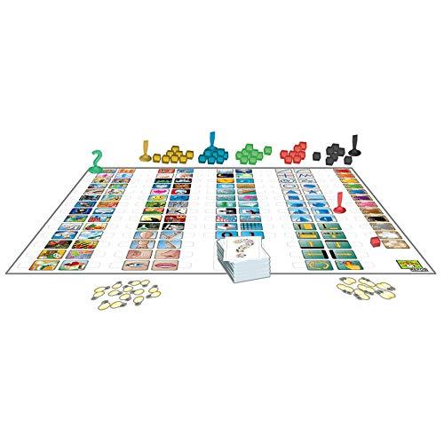 Repos Production-Concept – ¡Adivina Cientos de Objetos, Personajes y títulos al Combinar Iconos universales-Juego de Mesa en Español, Color Blanco (CON01ES)