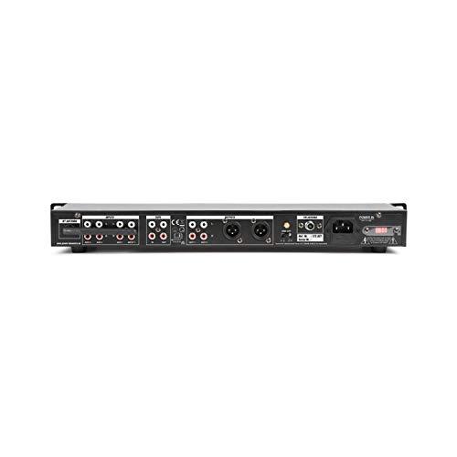 Reproductor multimedia en una unidad de rack con reproductor integrado de MP3 que lee ficheros directamente desde USB y SD. Ademas el PDC75 incluye receptor BT para hacer streaming de tu musica