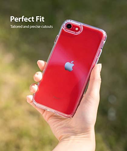 """Ringke Fusion Diseñado para Funda Apple iPhone SE 2020, Carcasa iPhone 8 (4.7"""") Protección Resistente Impactos TPU + PC Funda para iPhone SE 2020, iPhone 8 - Clear"""
