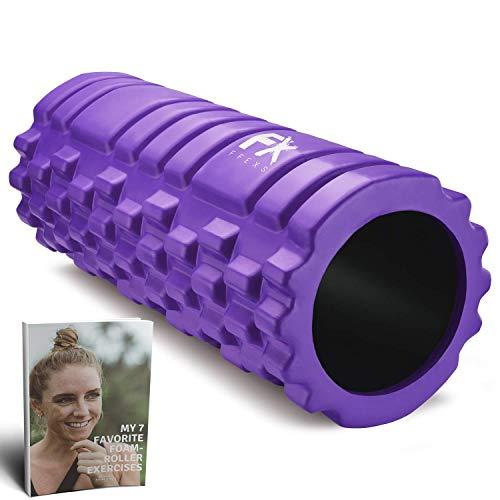 Rodillo de Espuma Foam Roller Pilates para Terapia de Masaje – Para Muscular Fitness Pilates Yoga - La Mejor Herramienta de Masaje para Todo Deportivo - Tejido Profundo Liberación Miofascial