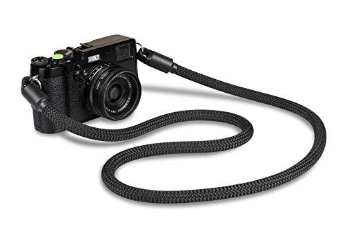 ROPSTER correa para cámara Style Strap, de cuerda robusta de alpinismo para fotógrafos con estilo | DSLR SLR, correa universal compatible con Nikon, Canon, Sony, Olympus, Fujifilm, Samsung y Pentax