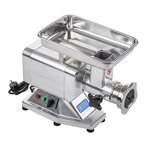 Royal Catering Picadora De Carne Máquina De Carnicería RCFW 120PRO (Potencia: 850 W, 200 kg/h, Cuchillas y Discos Perforados de Acero Inoxidable)