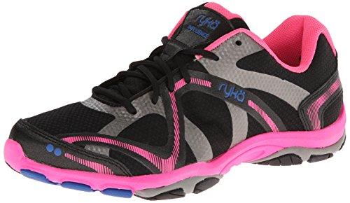 Ryka - Zapatillas para Mujer, Color Azul, Rosa y Blanco, Color Negro, Talla 39 EU
