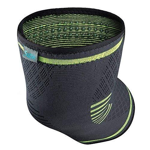 Sable Rodilleras Crossfit 2 Paquetes Antideslizante Uniforme de presión Tejido transpirable para Mujer y Hombre para, Motocross, Voleibol, Bicicleta, Baloncesto